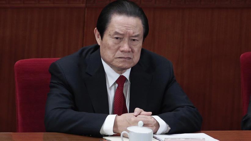 China: Ehemaliger Sicherheitschef wegen Korruption festgenommen