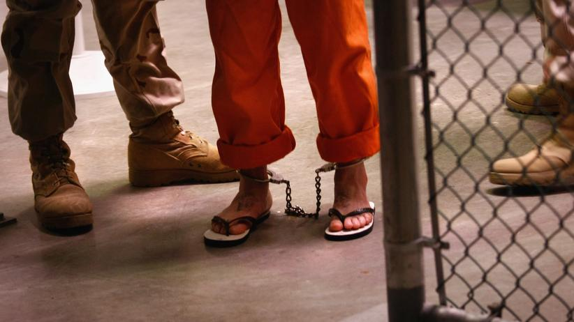 USA: Ein Gefangener in Guantánamo