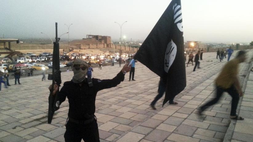 Ein IS-Kämpfer im Irak