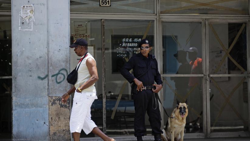 Kuba: Kubanische Polizei geht gegen Aktivisten vor