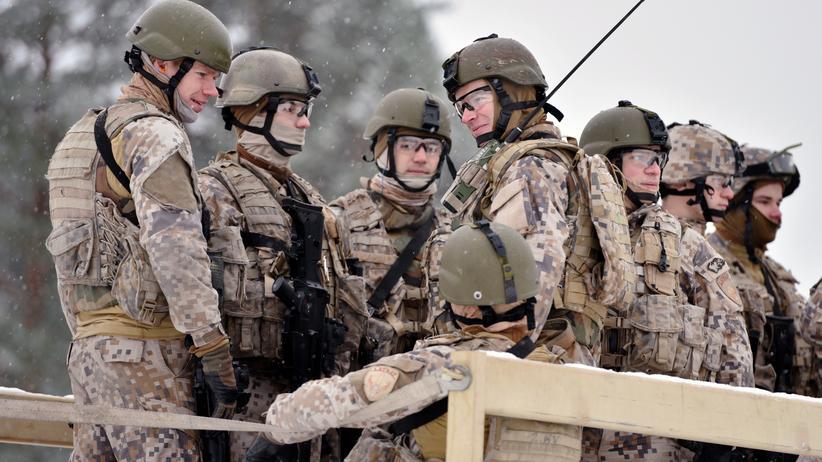 Ukraine-Krise: Im Ukraine-Konflikt wächst die Angst Lettlands und seiner baltischen Nachbarn vor Russlands Militäraktionen.