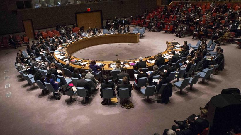 Nahost-Konflikt: Der UN-Sicherheitsrat (Archiv)
