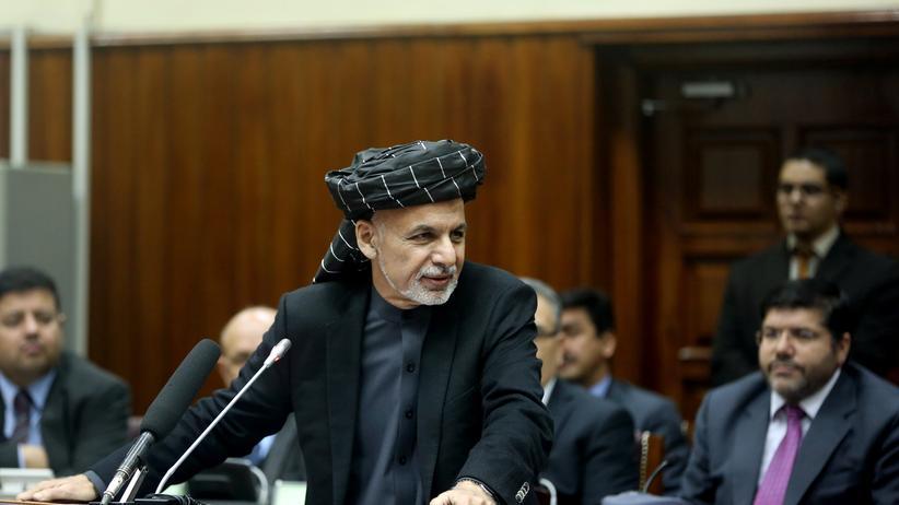 Afghanistan Aschraf Ghani