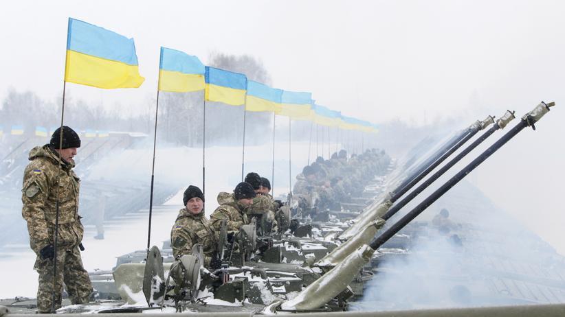 Armee Ukraine Mobilmachung