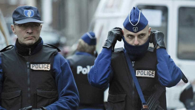 Belgien: Polizisten in Verviers