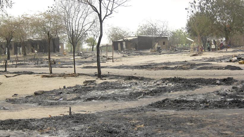 Politik, Nigeria, Boko Haram, Nigeria, Terrorismus, Kamerun, Tschad, BBC, Stadt, Nachrichtenagentur, Soldat, Gewalt, Opfer, Region