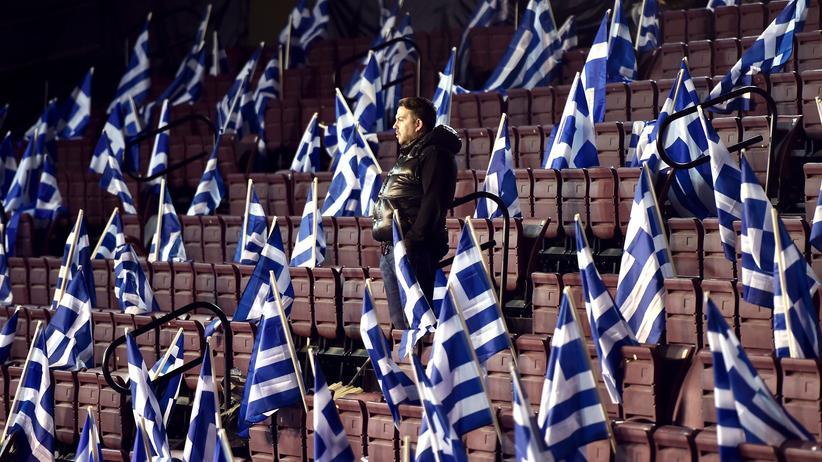 Griechenland Samaras