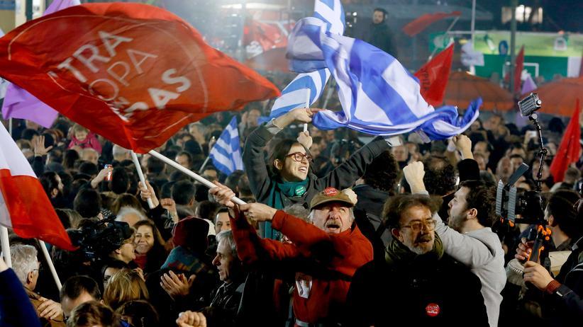 Griechenland: Die Nacht des linken Triumphes