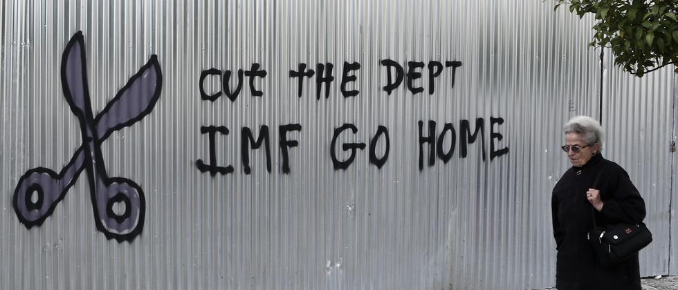 Griechenland Parlamentswahl IMF Schulden