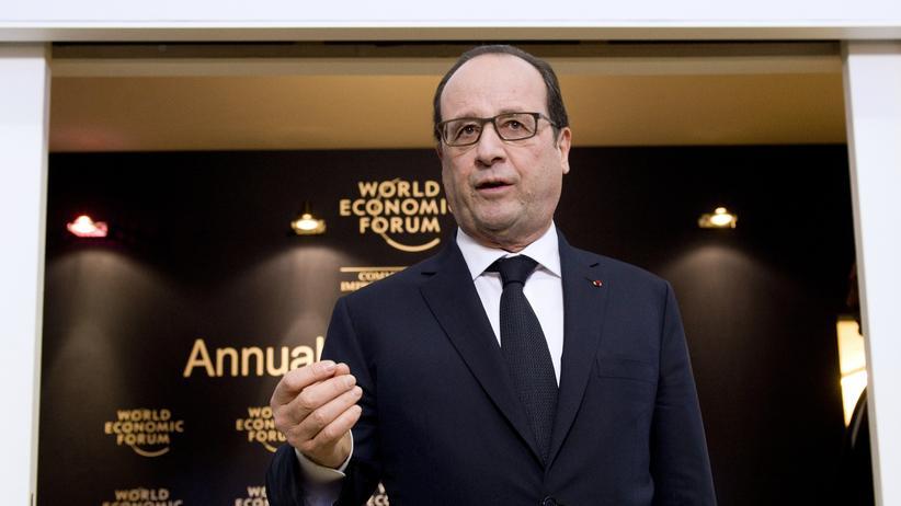 Weltwirtschaftsforum Davos: Hollande vergisst die wirklichen Reformen