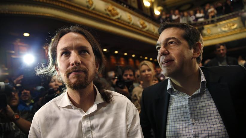 Wirtschaft, Spanien, Alexis Tsipras, Mariano Rajoy, Griechenland, Parlamentswahl, Spanien, Athen, Brüssel, Europa, Madrid