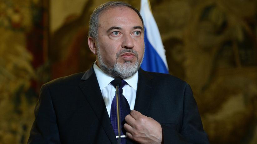 Der israelische Außenminister Avigdor Lieberman