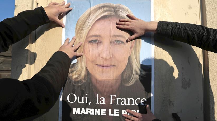 Marine Le Pen Frankreich Präsident Hollande