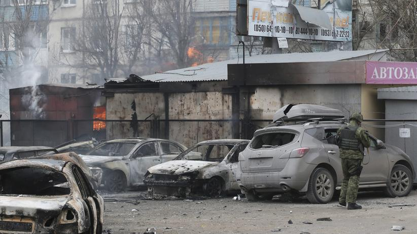 Ukraine Mariupol Angriff Separatisten