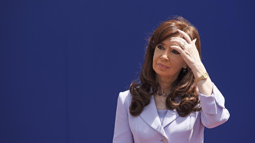 Argentiniens Präsidentin Cristina Fernández de Kirchner