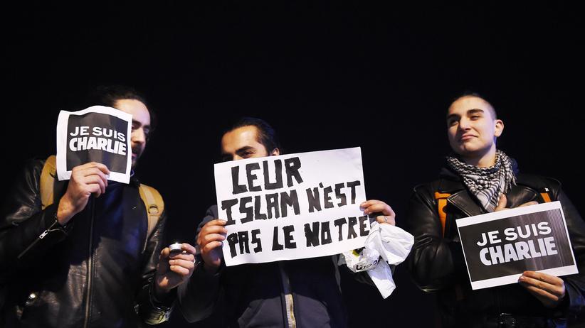Paris Muslime Trauer