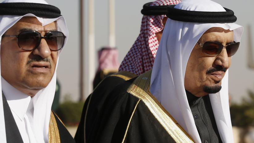 Abdullah-Nachfolge: König Salman räumt am saudischen Hof auf