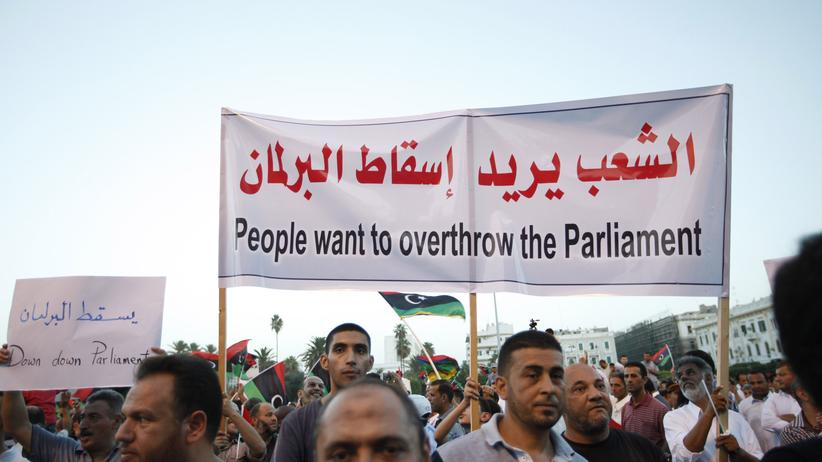 Libyen: Parlament auf der Flucht