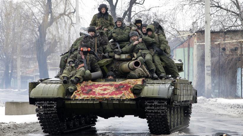 Ukraine-Krise: Separatisten in der Region Donezk