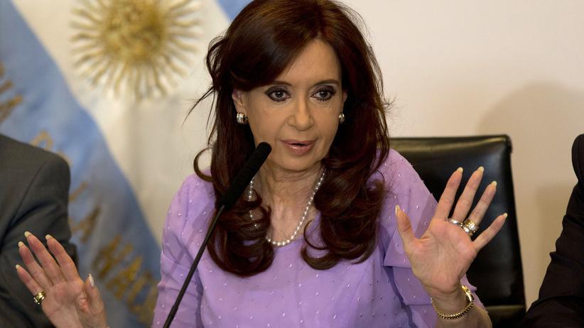 Cristina Kirchner Argentinien Vertuschung