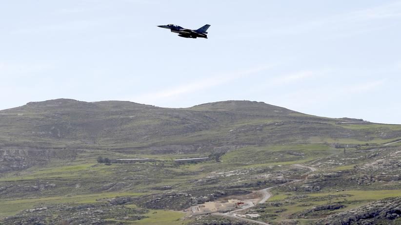 Jordanien Is Luftangriffe