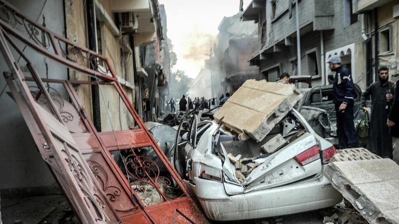 Libyen: Politik, Libyen, Islamischer Staat, Libyen, Ägypten, Bürgerkrieg, Terrorbekämpfung, Vereinte Nationen, Entführung, Gastarbeiter, Katar, Luftwaffe, Sudan, Europa, Misrata