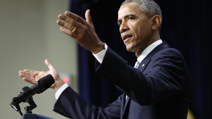 Barack Obama: US-Präsident Barack Obama