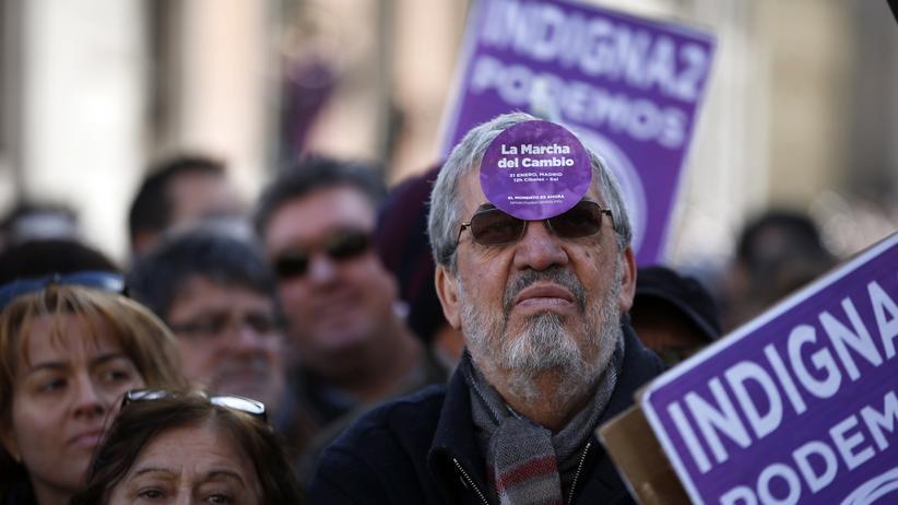"""Europas Linke: Syriza, Podemos und """"die Kaste"""""""