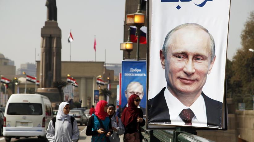 Ägypten: Politik, Ägypten, Wladimir Putin, Ägypten, Russland, Kairo, Moskau
