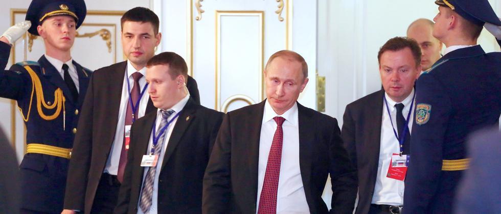 Putin Ukraine Russland