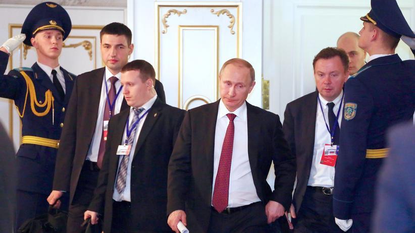 Strategiepapier: Politik, Strategiepapier, Wladimir Putin, Konstantin Malofejew, Russland, Ukraine, Wladimir Putin, Moskau, Charkiw, Donezk, Krim