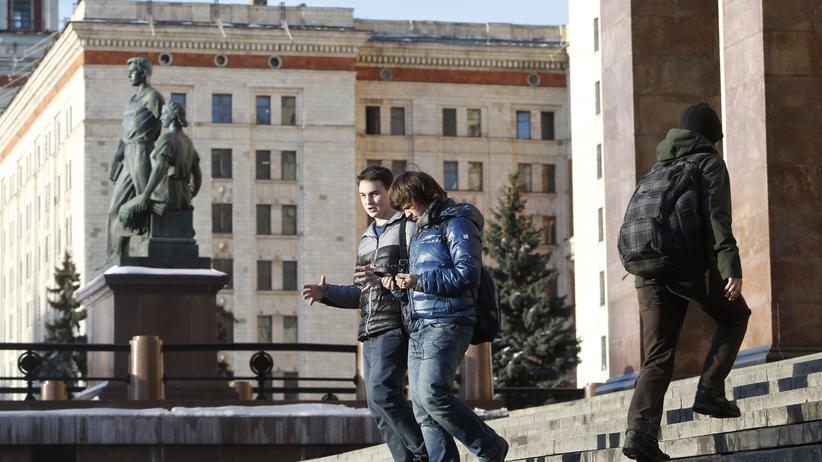 Russland: Im Schützengraben der Worte