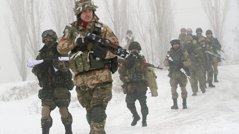 Ukraine-Konflikt: Politik, Ukraine-Konflikt, Ukraine, Militär, Luhansk, Vertrag, Waffenruhe, Minsk