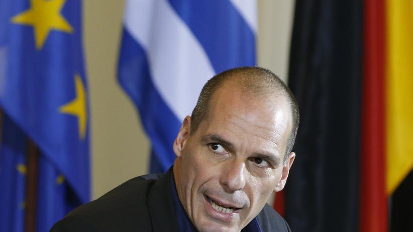 Eurokrise: Wirtschaft, Eurokrise, Griechenland, Yanis Varoufakis, Bundesfinanzministerium, Euro-Krise, Bundesregierung, Europäische Zentralbank, Jean-Claude Juncker, Brief, Finanzminister, Master, Staatsanleihe, Bank, Kredit, Athen