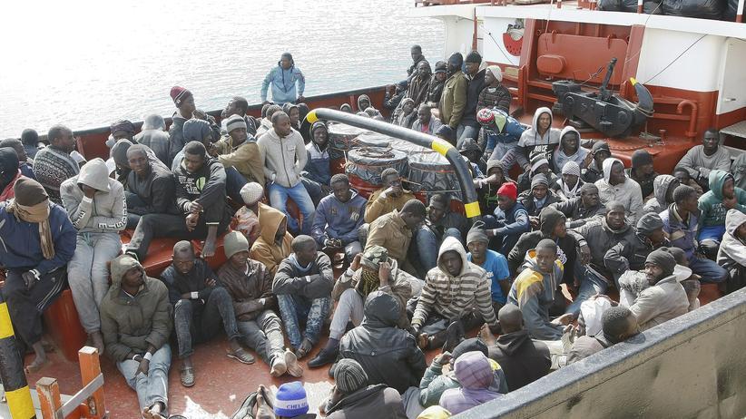 Abschiebung illegaler Zuwanderer Libyen