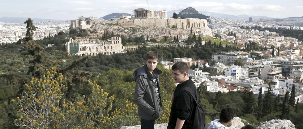 Griechenland Athen Reparationszahlungen