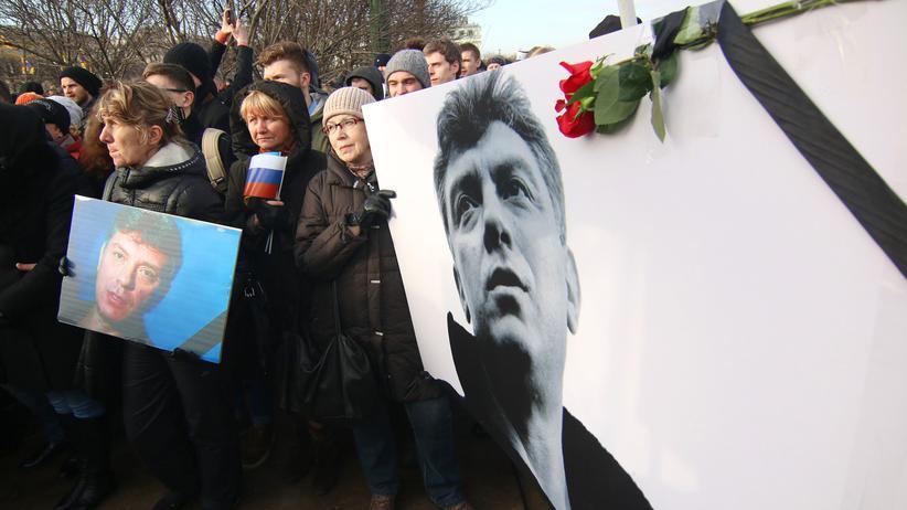 Boris Jefimowitsch Nemzow Russland Wladimir Putin Kreml