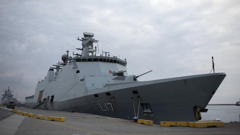 Dänemark Militärschiff