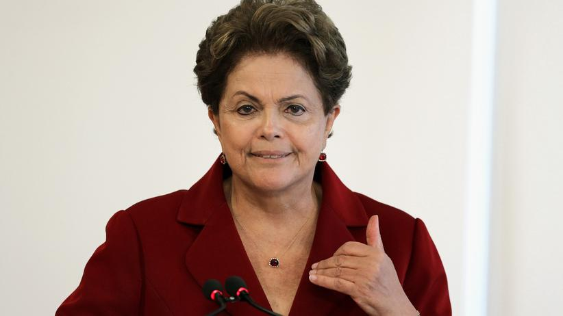 Petrobras-Skandal: Brasiliens Präsidentin Dilma Rousseff