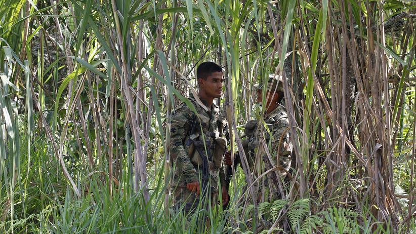 FARC Guerilla Kämpfer Kolumbien