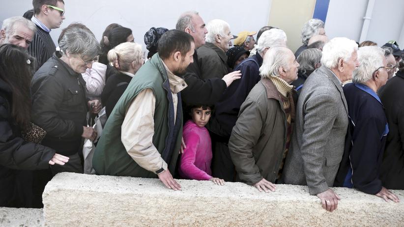 Griechenland Soziale Not