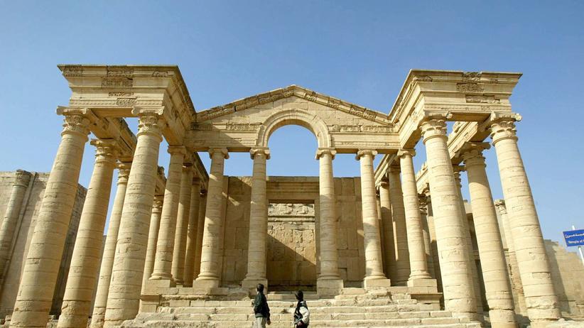 Hatra Irak Weltkulturerbe