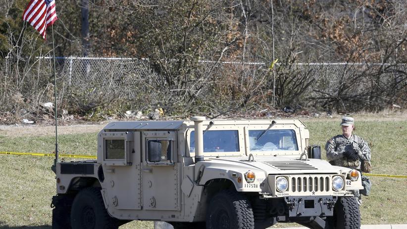 Ukraine-Krieg: Ein Humvee der US-Streitkräfte