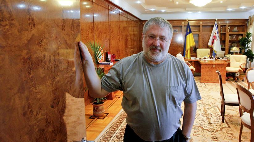 Ukraine Petro Poroschenko Igor Kolomoiski Luhanks Donezk Dnipropetrowsk