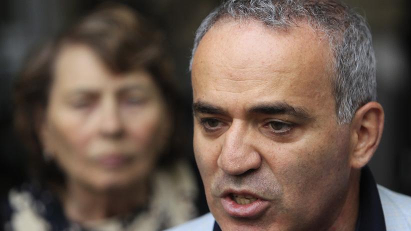 """Kreml-Kritiker: Kasparow nennt Putin """"Krebsgeschwür"""""""