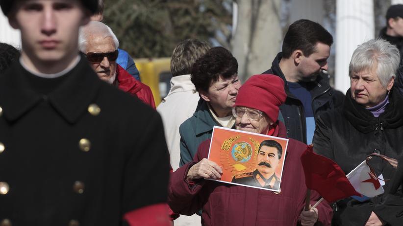 Krim-Annexion Jahrestag in Sewastopol