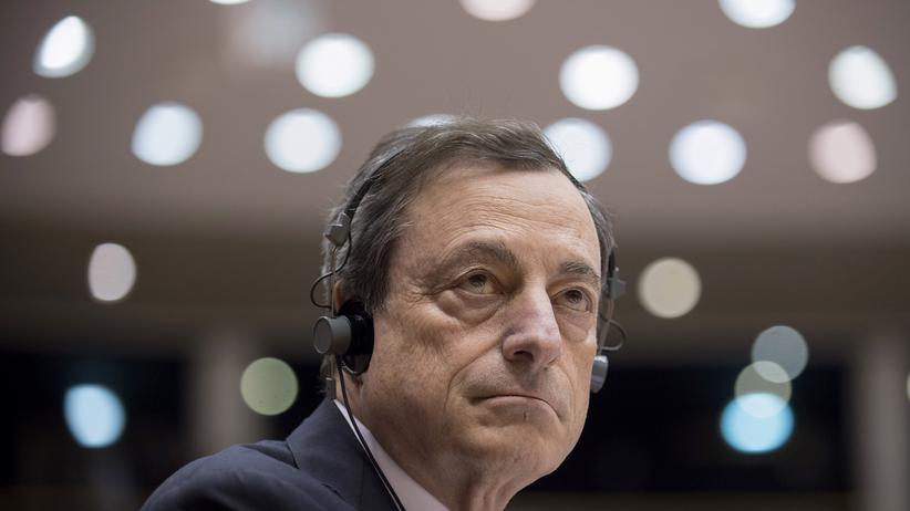 Europäische Zentralbank: EZB-Präsident Mario Draghi