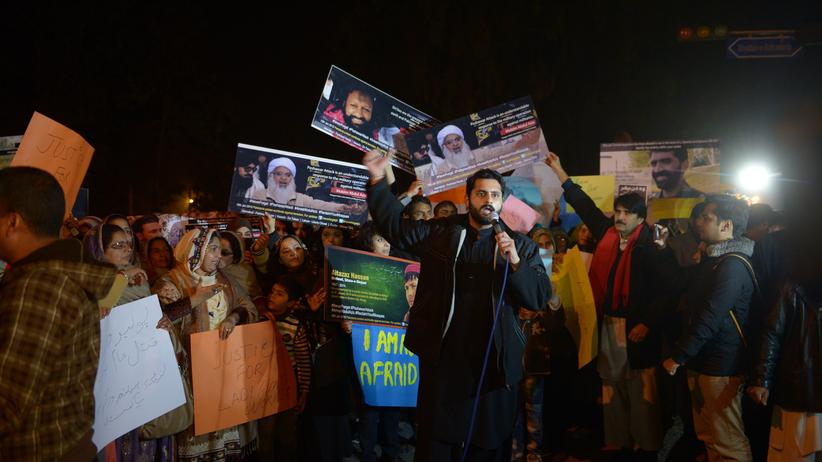Protest: Politik, Protest, Benazir Bhutto, Edward Snowden, Pakistan, Moschee, Taliban, Karatschi, Islamabad