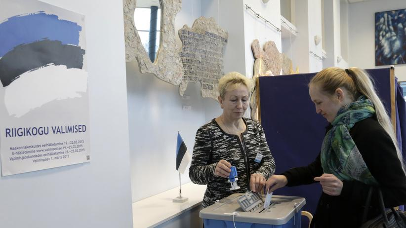 Estland Parlamentswahl