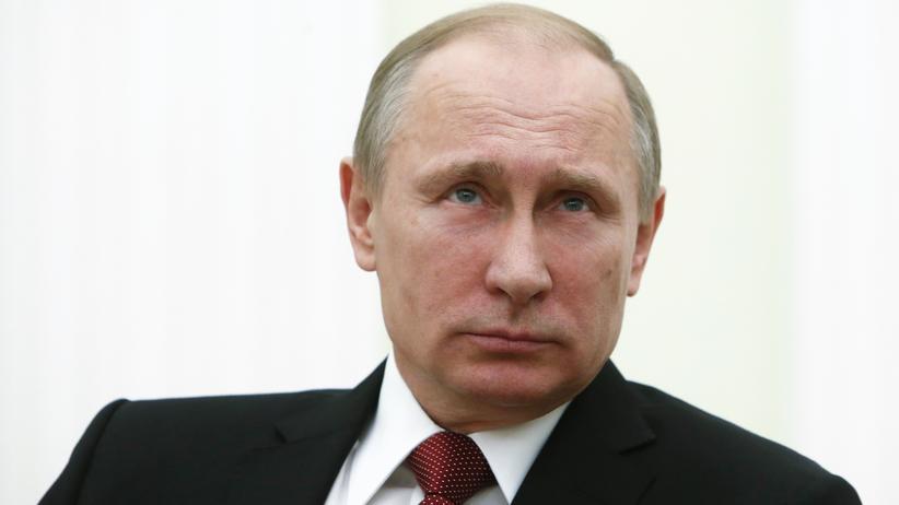 Russland: Russlands Präsident Wladimir Putin am 5. März während eines Treffens mit Italiens Premierminister Matteo Renzi im Kreml